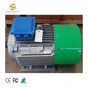 30Kw Low speed 200 RPM 250RPM 500RPM 750RPM three 3 phase permanent magnet generator alternator 50Hz
