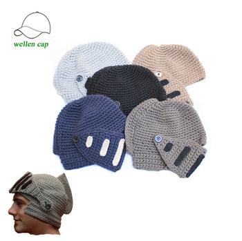 Mens Crochet Ritter Helm Hut Kostenlose Strickmuster - Buy Ritter ...