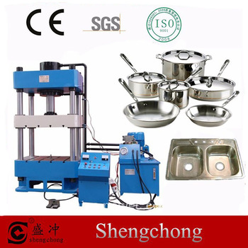 Shengchong Brand Y32 Series Machinery 4 Post Hydraulic Press 5 Ton - Buy 4  Post Hydraulic Press 5 Ton,Hydraulic Press,Press Machine Product on