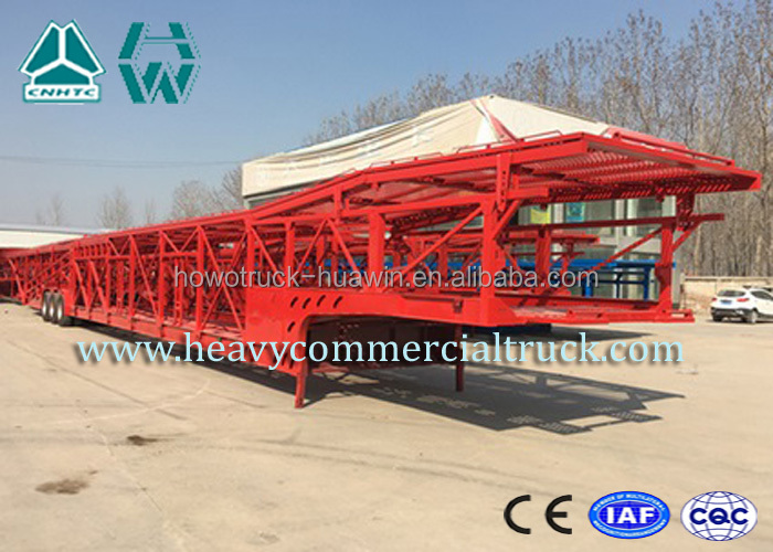 Customized single type double layer car carrier trailer