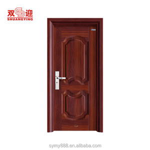 Residential steel security doors and frames
