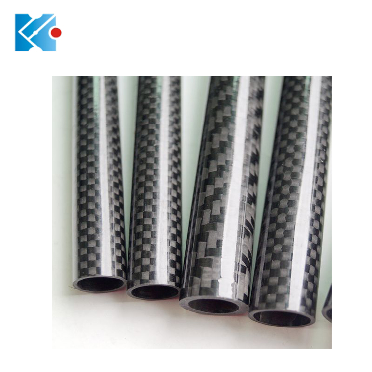 OEM 3K Carbon Fiber Tube 50mm with 100% carbon