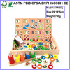 Top sale wooden montessori toys wooden multifunctional digital arithmetic learning box