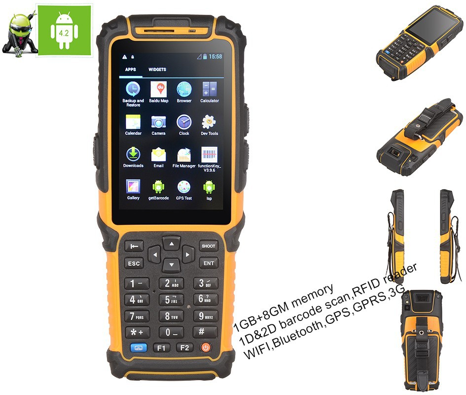 wireless Android pda TS-901S portable data terminal