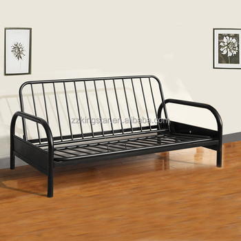 Modern Metal Futon Bed Frame Folding Sofa Manufacturers