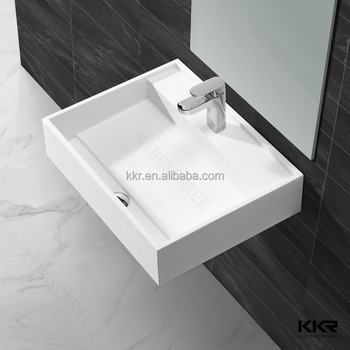 Lavatory Washing Basin Marble Counter Top Wash Basin