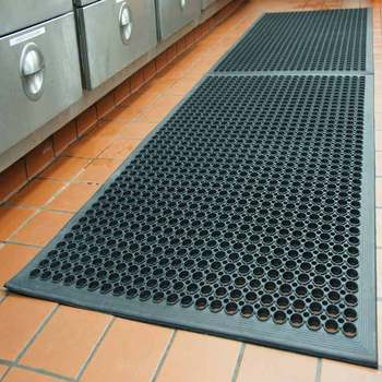 heavy duty water drain chef bbq grill sink rubber kitchen floor mats buy chef mats sink floor. Black Bedroom Furniture Sets. Home Design Ideas
