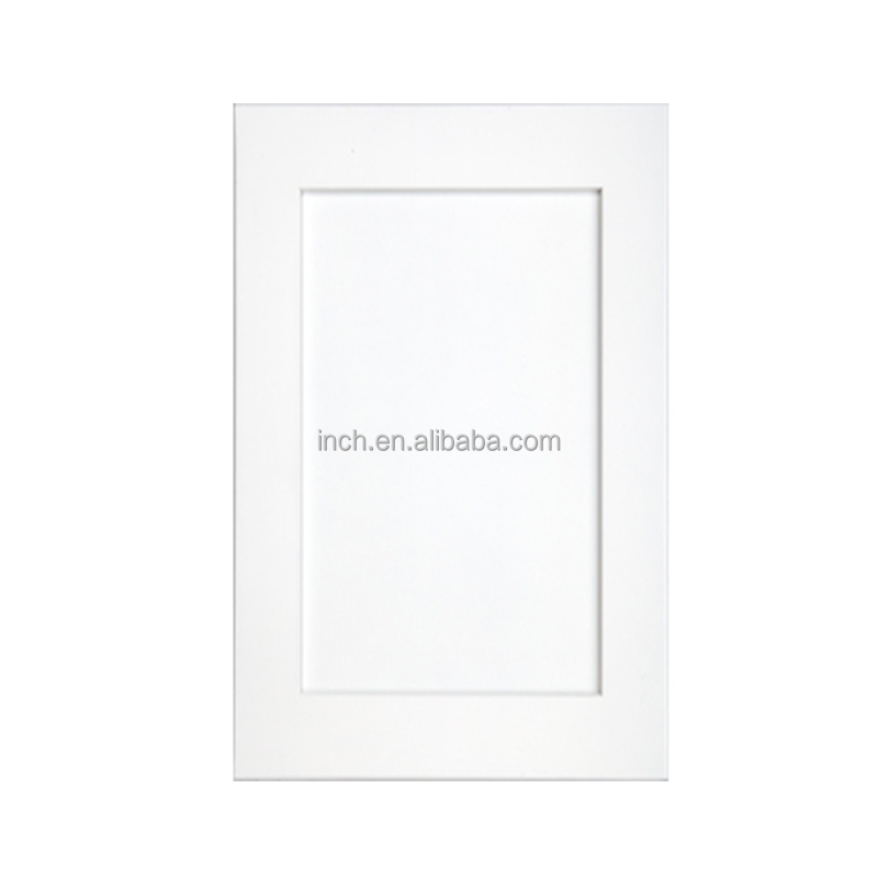 Inch-8025 Shaker White kitchen cabinet doors for kitchen cabinets