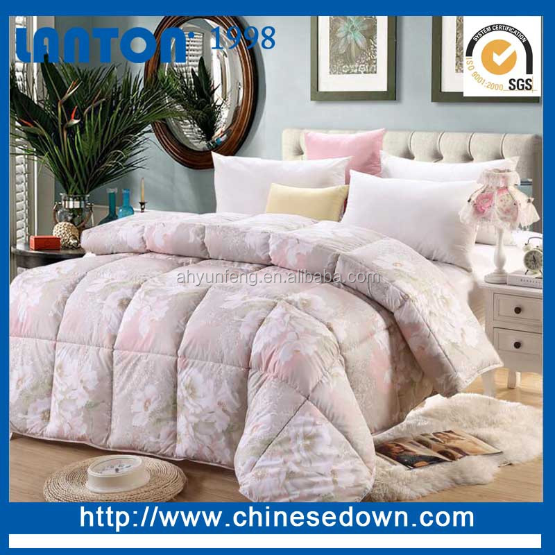 Comforter Set Type and 100%Cotton Material Bed Sheet microfiber quilt