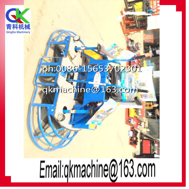 Road Building Construction Tools and Equipment Power Trowel, Concrete Finishing Machine
