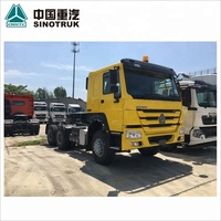 80 ton 336hp SINOTRUCK SINOTRUK 371hp used HOWO tractor truck truck head mozambique trailer head for sale