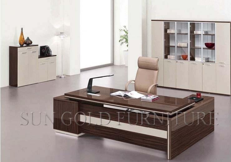 Nouveau mobilier de bureau bureau moderne en bois bureau for Mobilier bureau moderne