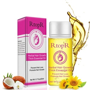 RtopR brand Herbal ingredients Prevent hair loss & promote hair Growth Thick essential oil