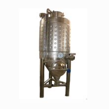 Chemical industrial cooling jacket bio fermenter tank with good price