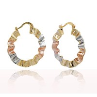 Jewelry making supplies wholesale indian gold hoop earrings gold jewellery