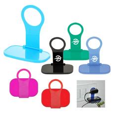 Penjualan Terbaik Kualitas Tinggi Meja Plastik ABS Double Dinding C Berbentuk Colorful Ponsel Pengisian Dudukan Telepon Berdiri