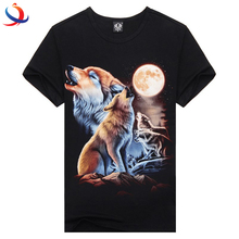 New fashion high quality design Clothes OEM Service Custom Printing Pattern Design Black custom 3D Sublimation  Mens Tshirt
