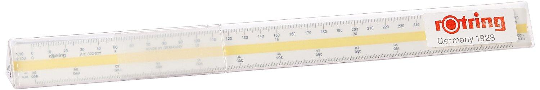 Throttling geometry ruler 25cm large R823080 japan import