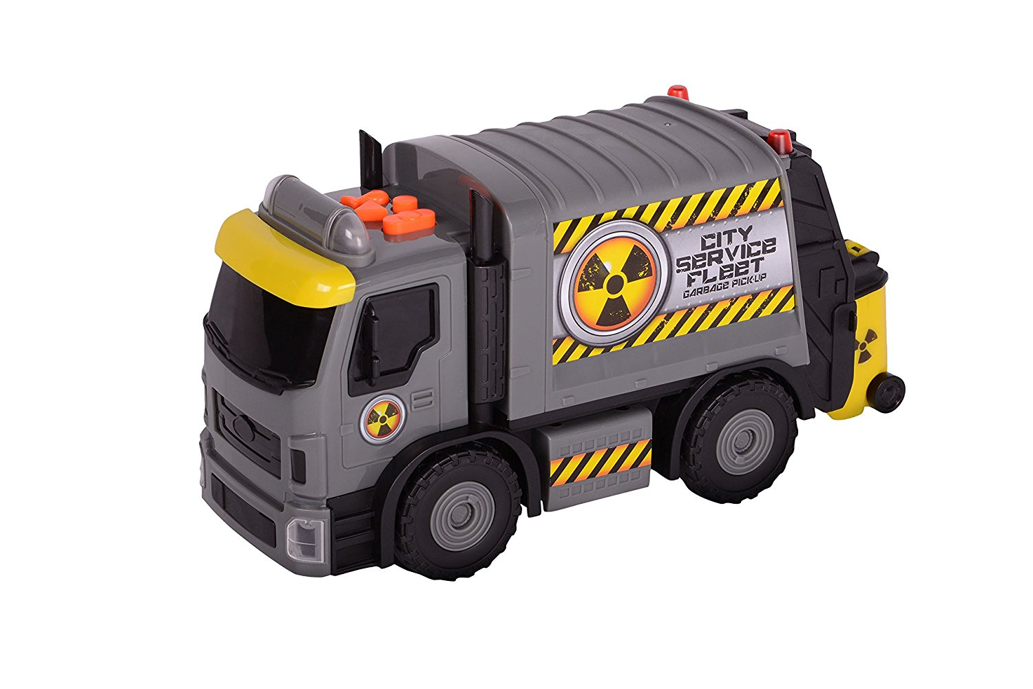 Toy State Road Rippers City Service Fleet Garbage Truck - Colors May Vary