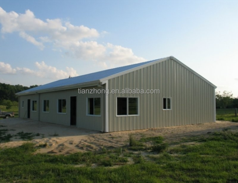 PU Sandwich panel wall cladding steel structure workshop /factory/warehouse