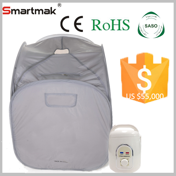Hefei Smartmak Portable Folding Sauna Steam Bath Prices,Steam Sauna Cabinet