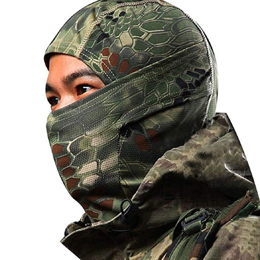 Back To Search Resultshome Chiefs Rattlesnake Tactical Airsoft Hunting Wargame Breathing Dustproof Face Balaclava Mask Motorcycle Skiing Cycling Full Hood