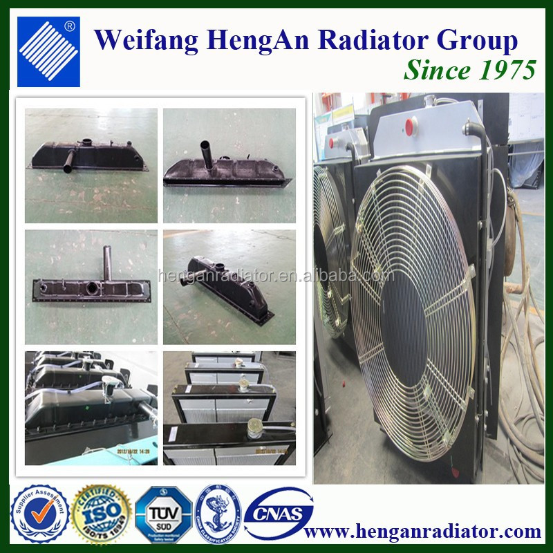 auto radiator parts for radiator tanks radiator fan