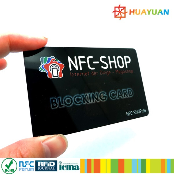 New product! RFID hacking NFC Ausleseschutz Blocking Karte for protect your data