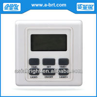 220V Dimmer Switch for fluorescent lamp with Alarm Clock.