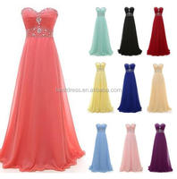 Formal Chiffon Evening Formal Party Prom Dress Bridesmaid Cocktail Dresses