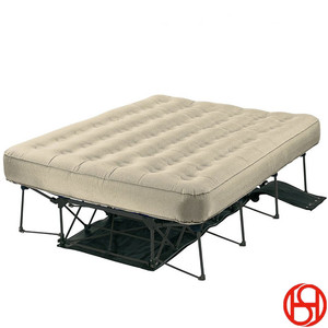 BSCI SGS system silently keeps your air mattress inflatable all night air bed adjustable air mattress