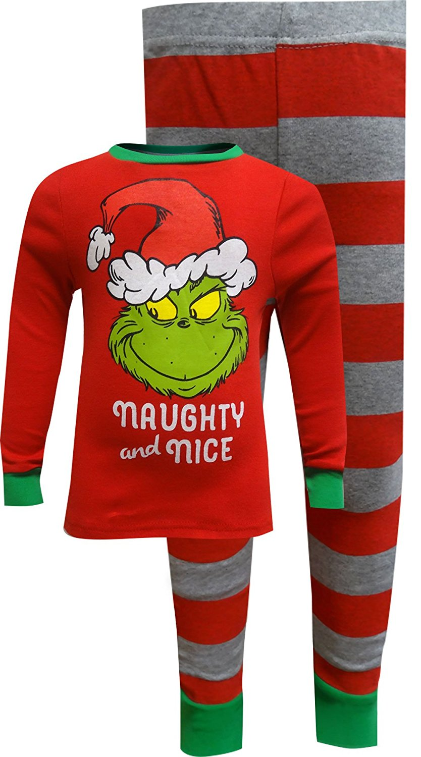195f05bf836 Get Quotations · Dr. Seuss The Grinch Girls Pajamas for Girls
