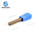 WORLDEN Solid Carbide Flat-end Milling Cutter with Four Flutes, HRC45 End Mill for Steel, HSS Endmill