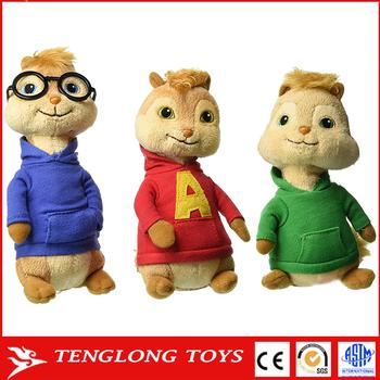 Alvin all'ingrosso Chipmunks peluche Fabbrica Chipmunk e giocattolo 8nPk0XwO