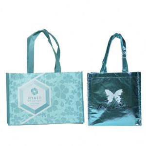 Customized New promo recycle pp woven laminated bag