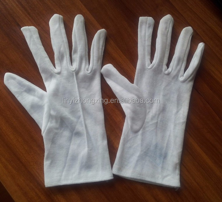 TC inspection working gloves with one line on back