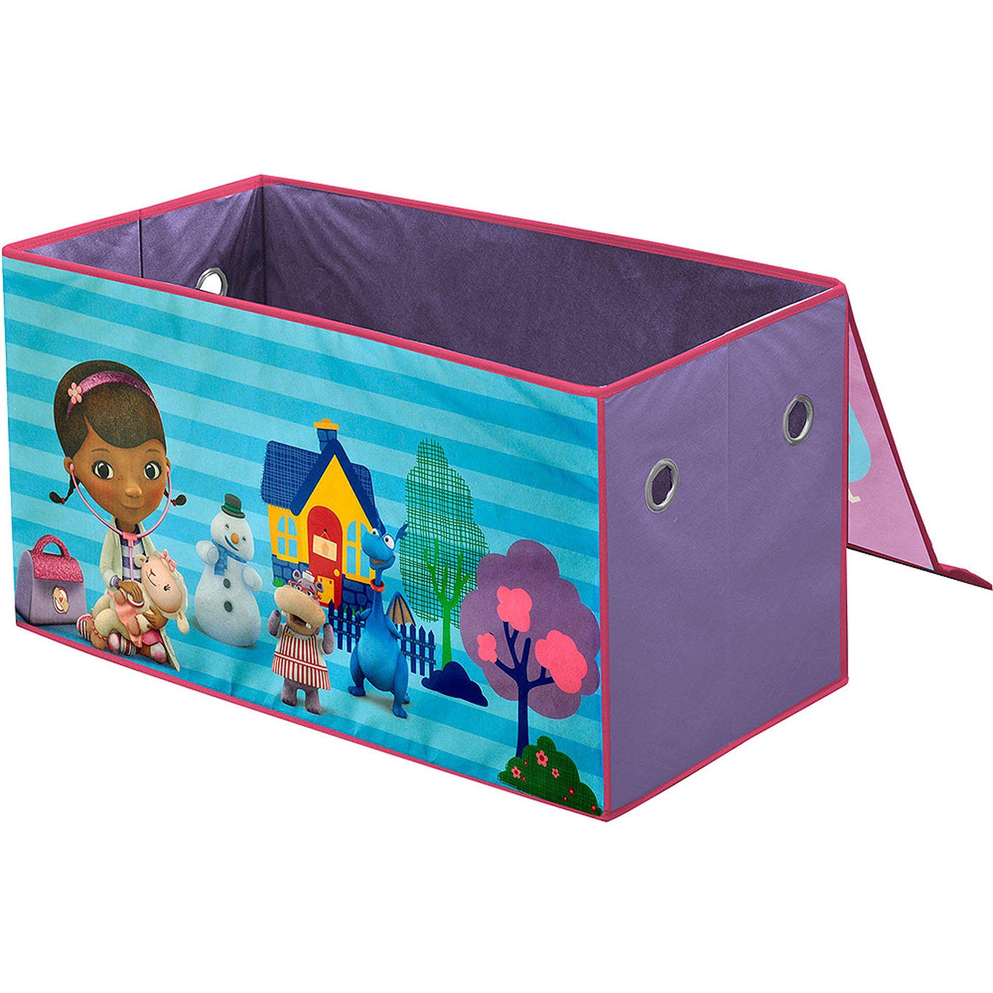 Bon Get Quotations · Disney Doc McStuffins Oversized Soft Collapsible Storage  Toy Trunk