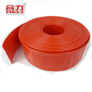 2inch agriculture flexible pvc layflat water irrigation discharge hose