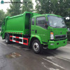 China Sinotruk HOWO Rear Loader 15m3 Compactor Garbage Truck Price