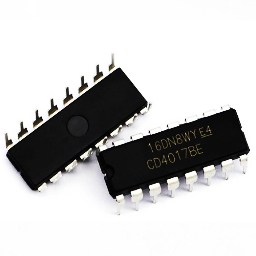 5x CD4017 4017 Divisor CMOS IC Contador de décadas