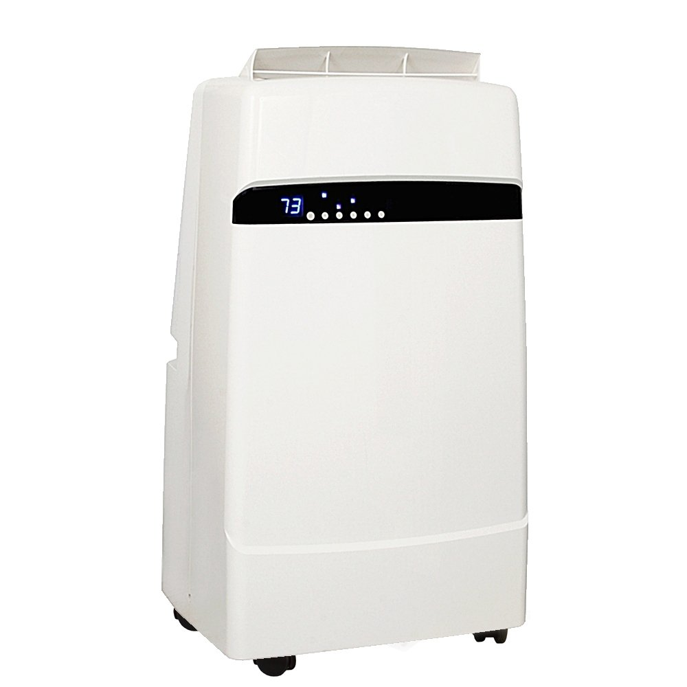 Whynter ARC-12SD 12,000 BTU Dual Hose Portable Air Conditioner, Dehumidifier, Fan with Activated Carbon Filter plus Storage bag for Rooms up to 400 sq ft