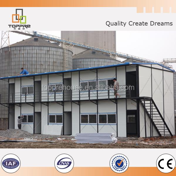 Bien Maison Prefab Pas Cher #9: Belle Facile Assemblage Pas Cher Maison Préfabriquée Modulaire Fait Maison  En Chine Pour Lu0027iraq