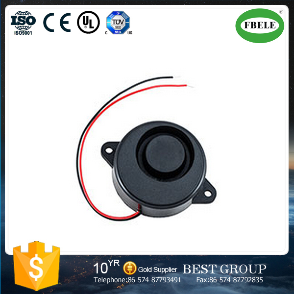 FB-5018 12v piezo buzzer, piezo siren with wire (FBELE)