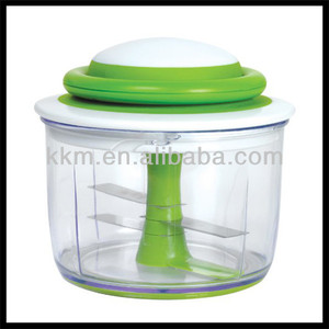 OEM manufacturing plastic manual pulling food chopper