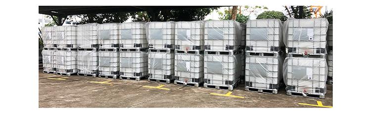1000L समग्र मध्यवर्ती थोक कंटेनरों एचडीपीई नई कम कीमत IBC