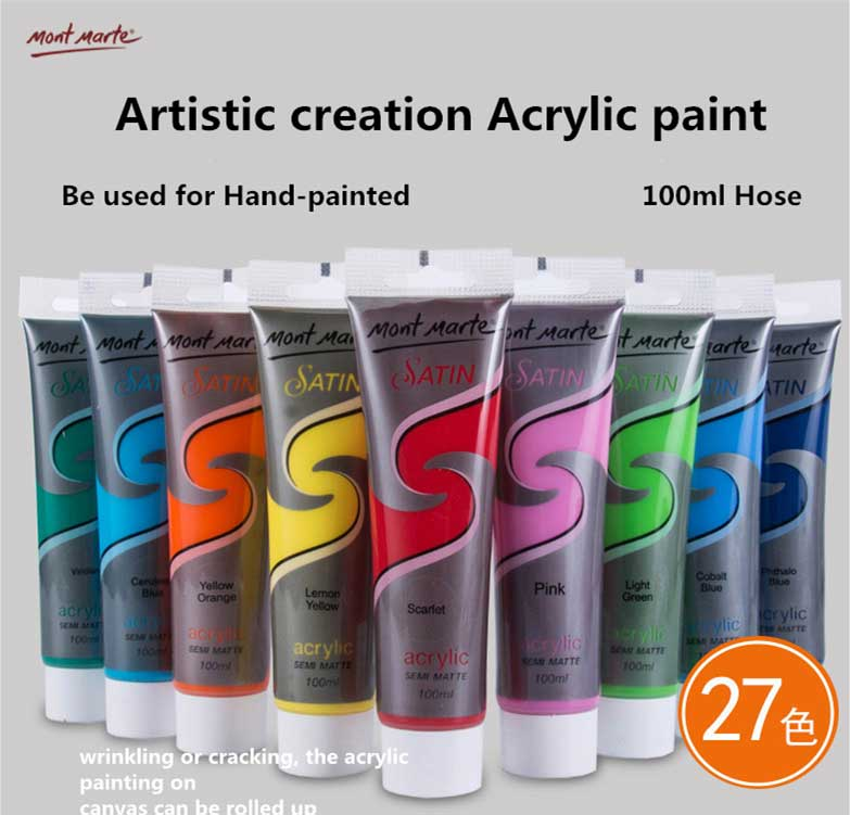 MMAT The latest Technology Good Heat Resistance maries acrylic paint
