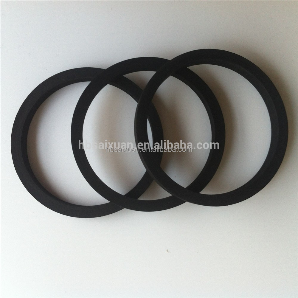 Quality Guaranteed Round Flat Rubber Gasket/ Rubber O-ring Flat ...