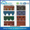 High quality factory direct roofing shingles Construction materials Colourful Asphalt shingles cheap roofing materials