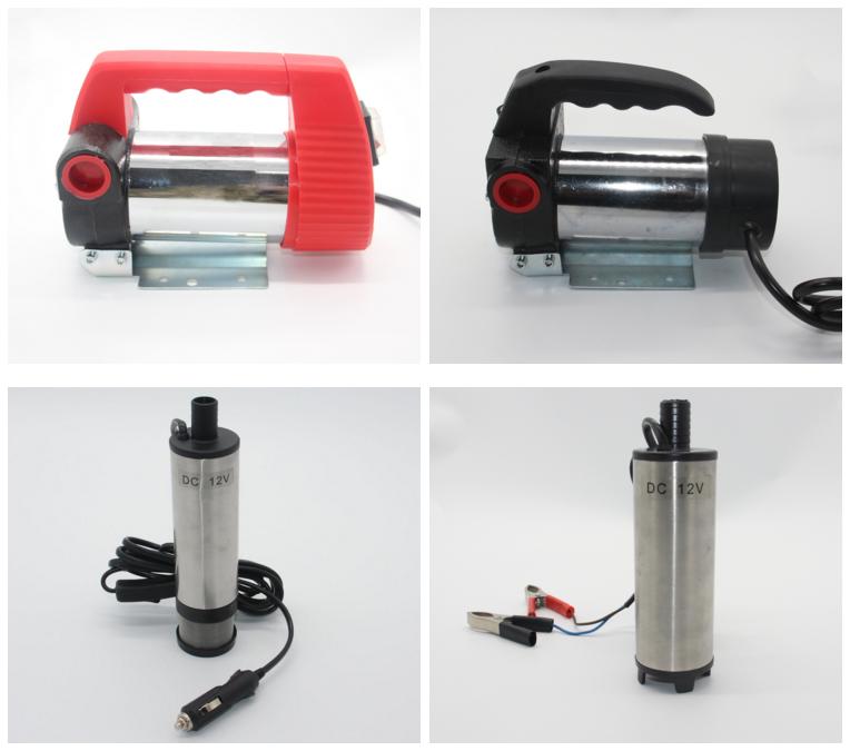 Çin Sıcak satış 2019 yeni 38mm/51mm 12 V 24 v dc yakıt dizel motor transfer pompası küçük dalgıç yağ su pompası