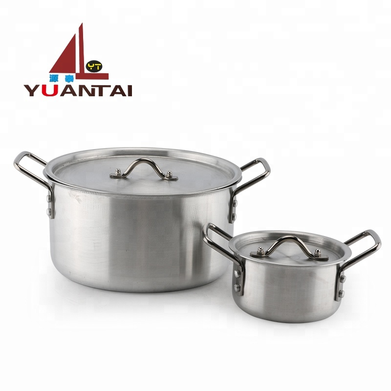 New style hot sale 14/16/18/20/22/24/26cm 7pcs aluminum pot stock pot sets cookware sets with lid